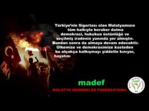MADEF Darbeye Hayır