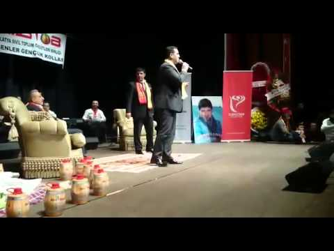 MADEF Genel Başkanı Yılmaz DURMUŞ Malatya Şöleni 2015